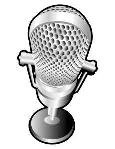 silver-microphone