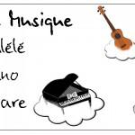 Cours de musique… C'est fini !