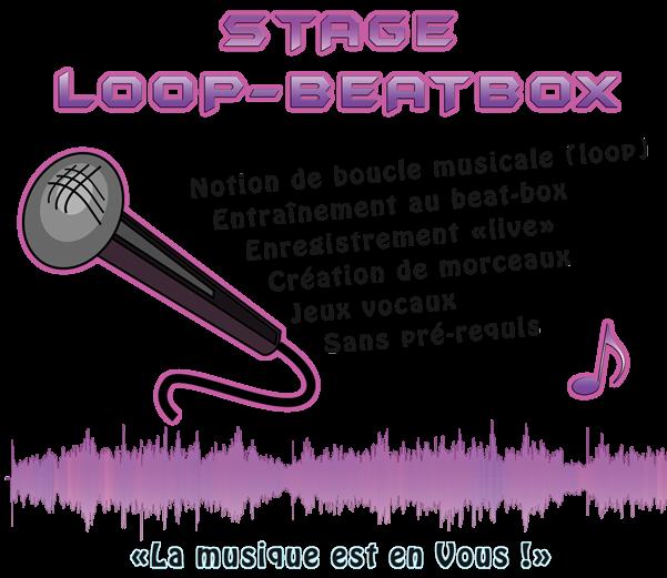FUN ! Initiation à la pratique du beat-box et à l'utilisation d'une loopstation !